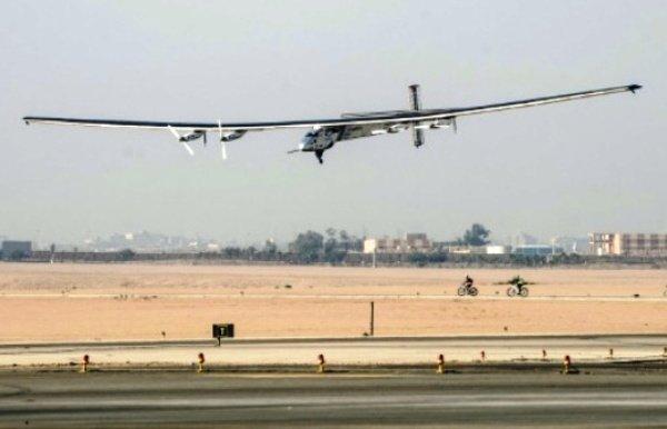پرواز پایانی هواپیمای خورشیدی به تعویق افتاد