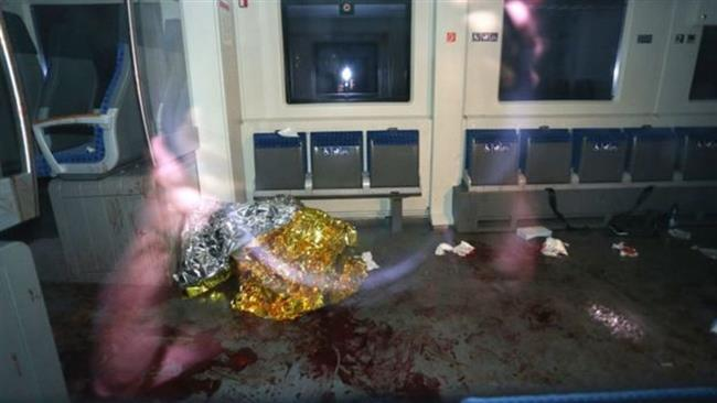 حمله با تبر به مسافران قطاری در آلمان