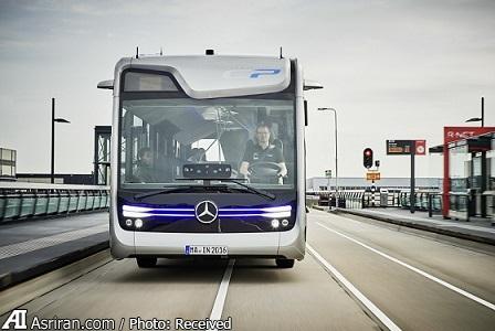 اتوبوسهای آتی بنز در آمستردام