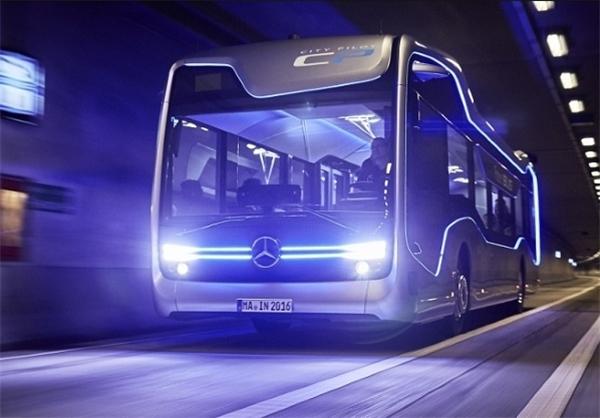 اتوبوس بدون نیاز به راننده هم از راه رسید