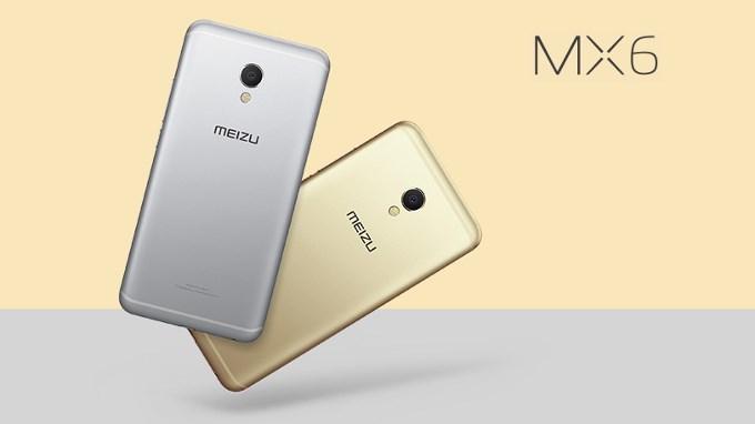 گوشی هوشمند Meizu MX6 رونمایی شد