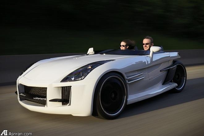 تجربهای متفاوت از رانندگی با لازارت وازوما GT