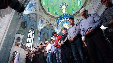 رمضان در روسیه (+عکس)