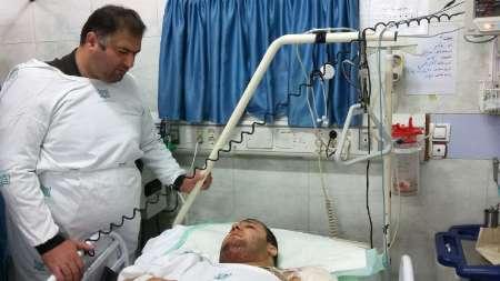 مدیر بیمارستان: جراحی پای بهادر مولایی خوب بود و جای نگرانی نیست