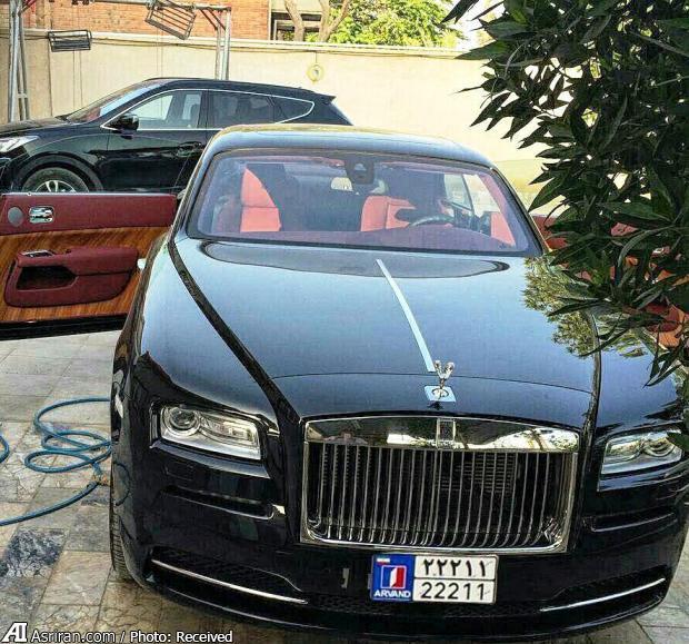 خودروی لوکس دست ساز در ایران (+عکس)