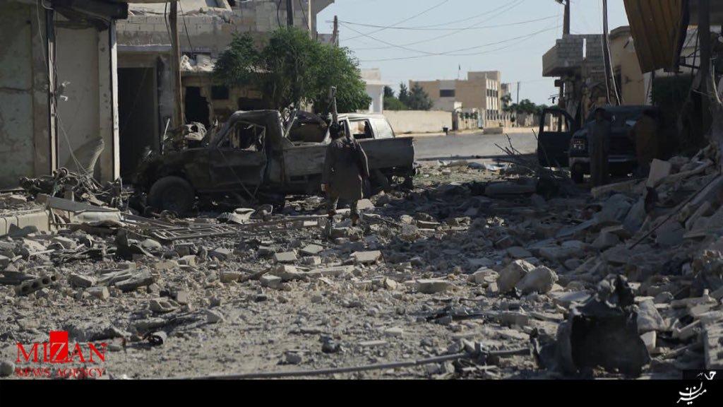 گروه تلگرام ایرانیان ترکیه حوه حمله انتحاری داعش به شمال حلب (+عکس)