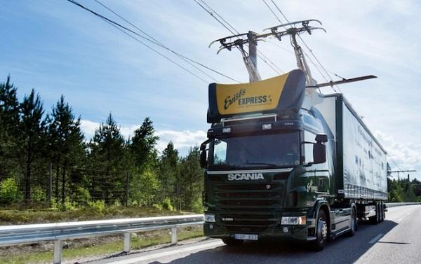 ساخت بزرگراههای برقی برای کامیونها در سوئد