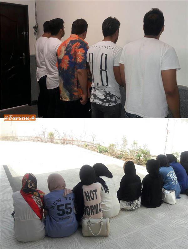 دادستان پردیس: دستگیری 15 هنجارشکن بخاطر لهو و لعب در شب قدر (+ عکس)