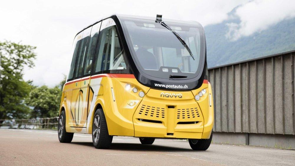 اتوبوسهای بدون راننده در سوئیس (+عکس)