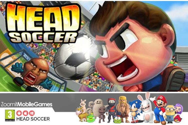 بازی موبایل Head Soccer؛ فوتبال کله ای