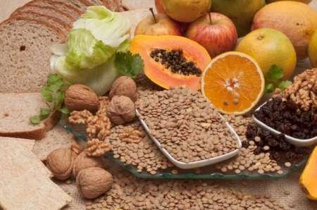 کاهش آلرژی غذایی با غذاهای پرفیبر