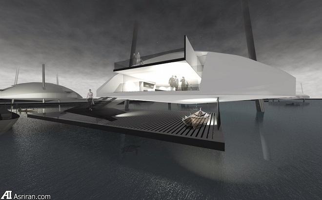 خانههای شناور می توانند تعریف خانهسازی در آینده باشند