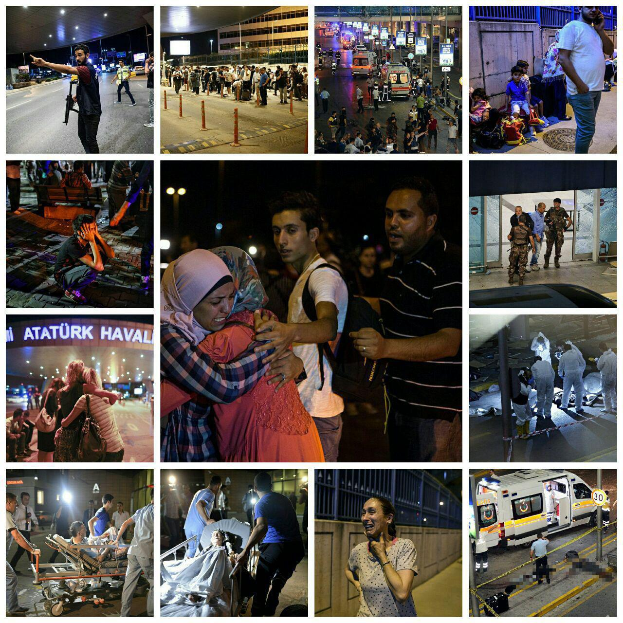 یک کشته و 5 مجروح ایرانی در انفجار فرودگاه استانبول