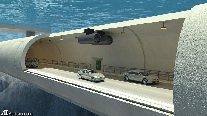 تونلهای شناور زیرآبی نروژ؛ نخستین نمونه در نوع خود در جهان