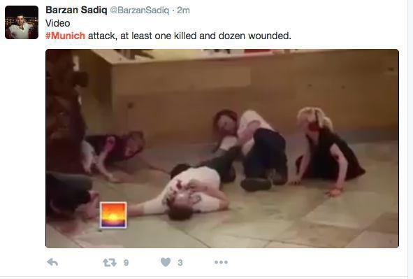 حمله مسلحانه به یک مرکز خرید در مونیخ آلمان (+عکس و فیلم) / چند کشته و زخمی / مهاجمان فرار کردند