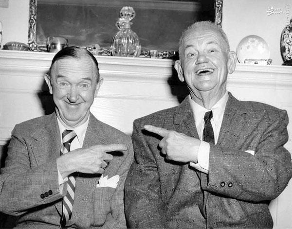 دوران پیری لورل و هاردی (عکس)