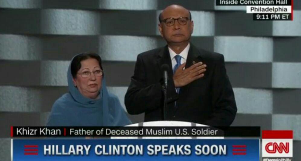حمله ترامپ به مادر سرباز مسلمان آمریکایی کشته شده در عراق