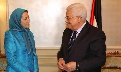 چرا رئیس تشکیلات خودگردان فلسطین با سرکرده منافقین دیدار کرد؟!