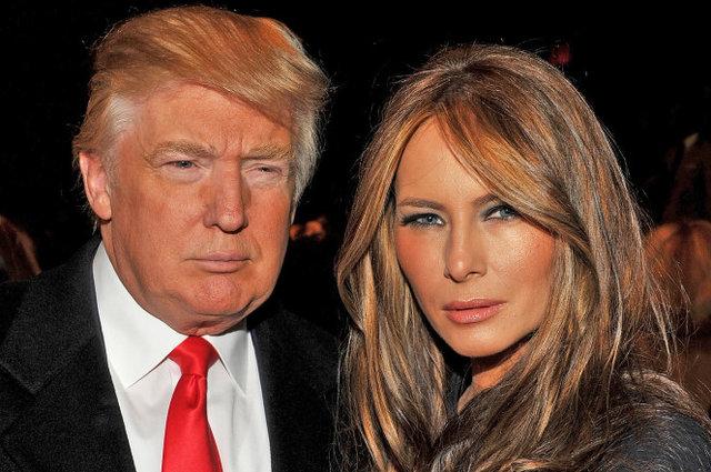 انتشار تصاویری برهنه همسر ترامپ