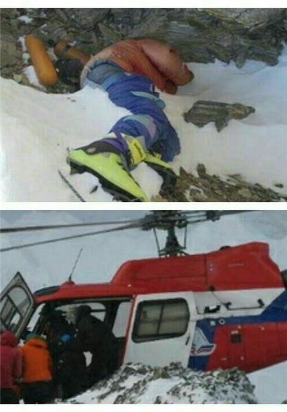 کوهنورد آلمانی در ارتفاعات کلاردشت درگذشت (+عکس)
