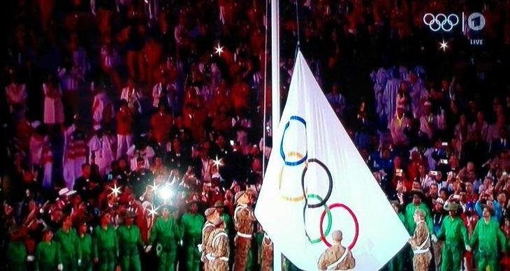 مراسم افتتاحیه المپیک 2016 ریو (+عکس و فیلم)