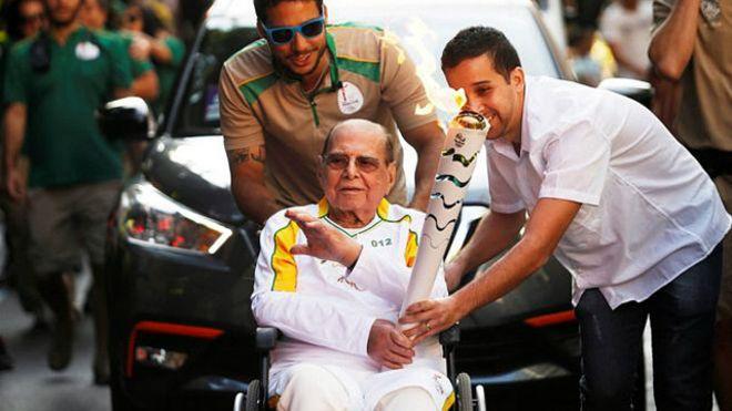 حامل مشعل المپیک 2016 ریو درگذشت (+عکس)
