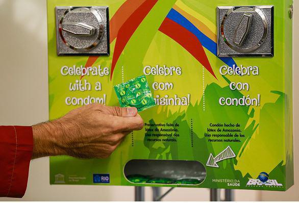 توزیع کاندوم در المپیک ریو
