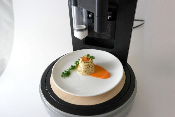 تا سال ۲۰۲۰ غذاهایتان را چاپ خواهید کرد
