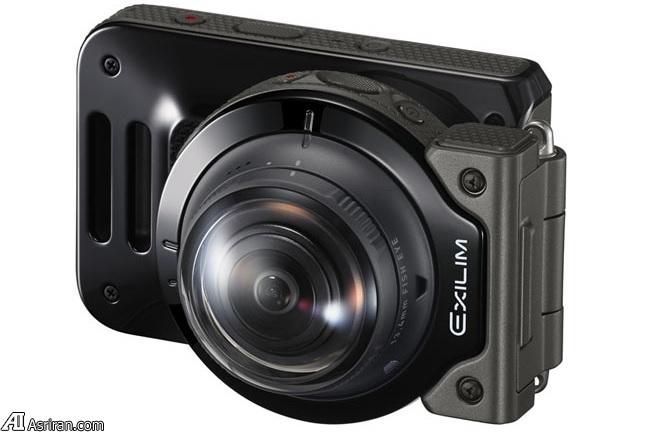 ورود کاسیو به بازار دوربینهای 360 درجه با محصولی متمایز