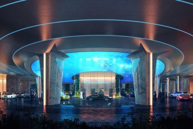 هتلی در دوبی آبوهوای استوایی میسازد+تصاویر