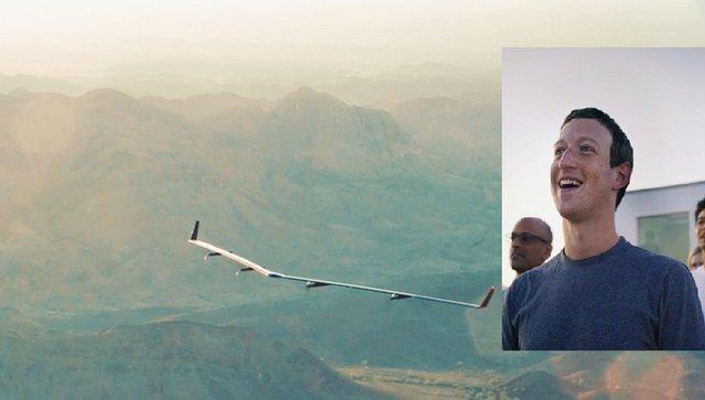 فیسبوک هواپیمای اینترنترسان ساخت+عکس