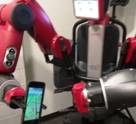 بازی «پوکمن گو» به دنیای روباتها هم رسید