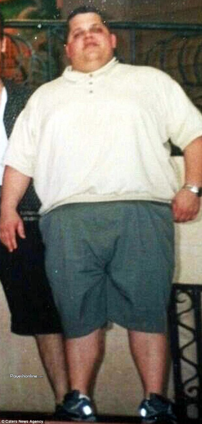 این مرد آمریکایی 90 کیلو وزن کم کرد (+عکس)