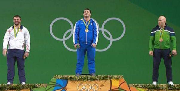 دومین مدال طلای ریو را مرادی به چنگ آورد / صعود کاروان ایران به رتبه بیستم المپیک(+عکس)