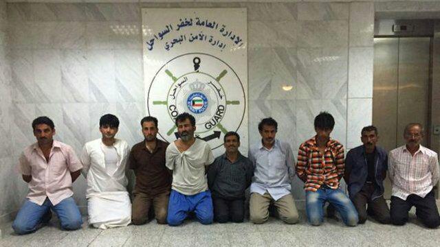 خبرگزاری کویت از بازداشت 10 ایرانی در سواحل این کشور خبر داد (+عکس)