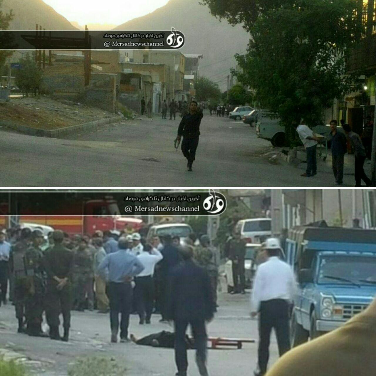 پلیس: کشته شدن 3 تکفیری در درگیری مسلحانه در کرمانشاه (+عکس و فیلم)