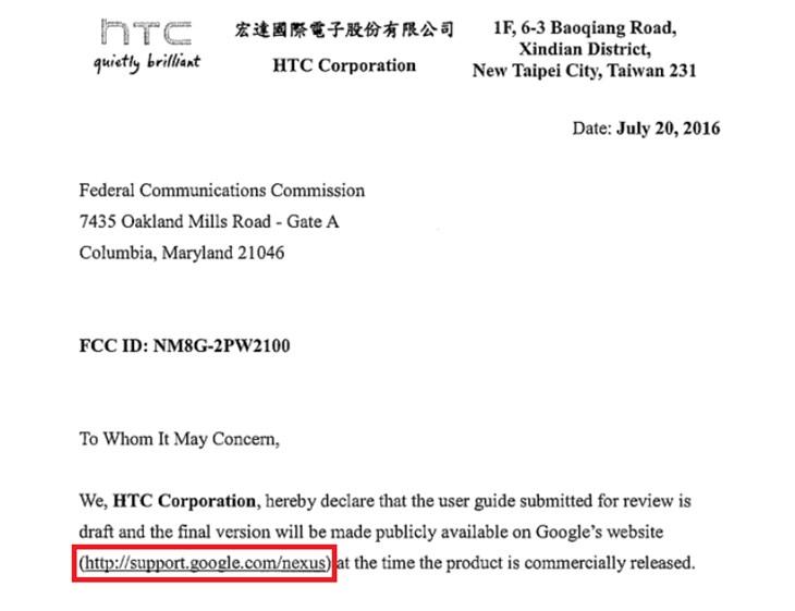 گوشیهای نکسوس 2016 مجوز FCC را دریافت کردند
