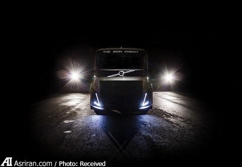 رکورد سرعت کامیون 4.5 تنی ولوو (عکس+فیلم)