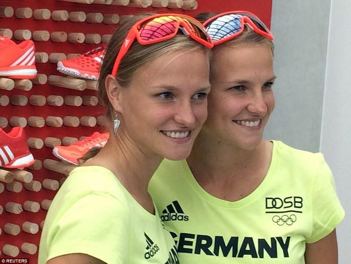 المپیک ریو/  دوقلوی آلمانی دست در دست هم به خط آخر رسیدند