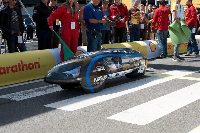 بهینهترین خودروی الکتریکی جهان را ببینید+تصاویر