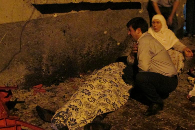 حمله به مراسم عروسی در ترکیه / 22 کشته و 94 مجروح (عکس)