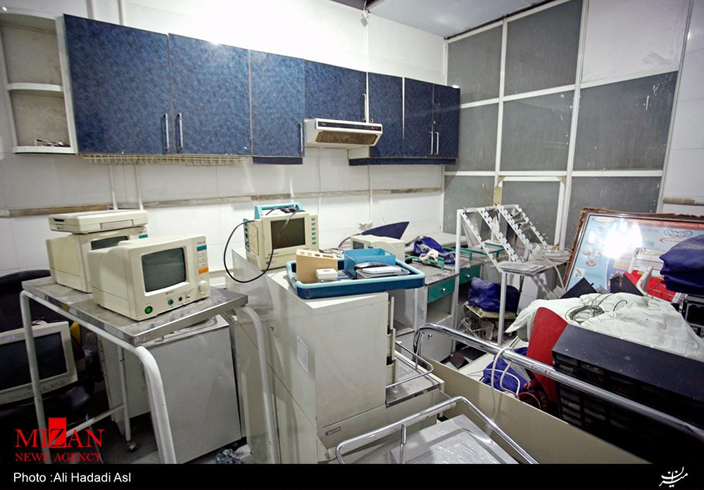 پلمب یک بیمارستان خصوصی در شمال تهران (+عکس)