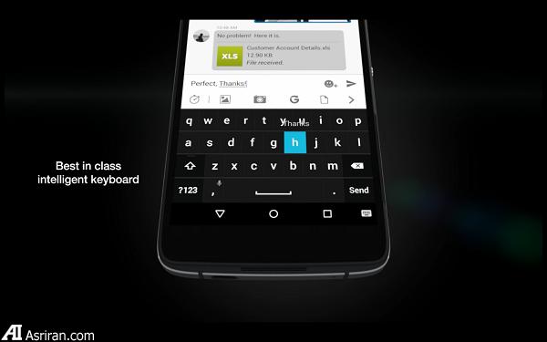 بلک بری DTEK50؛ امنترین گوشی اندرویدی جهان