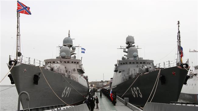 2 کشتی جنگی روسیه به ایران می آیند