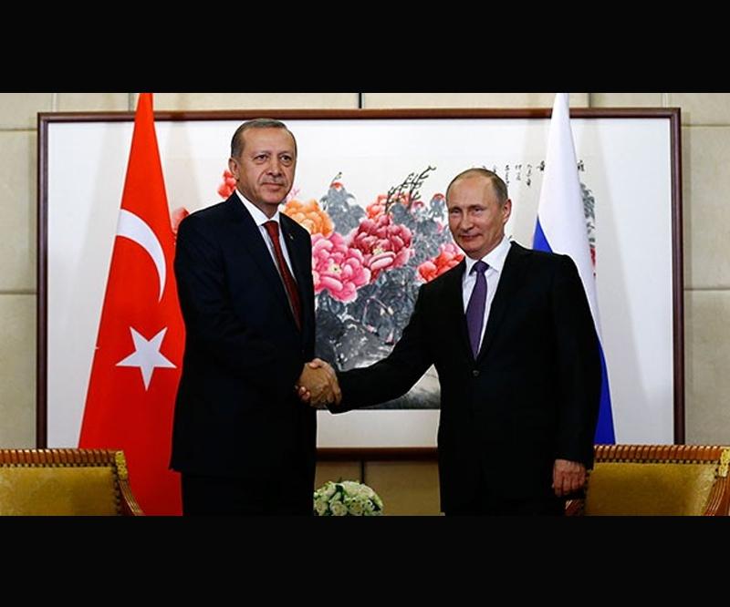 تشکر اردوغان از پوتین با خاطر توریست های روس