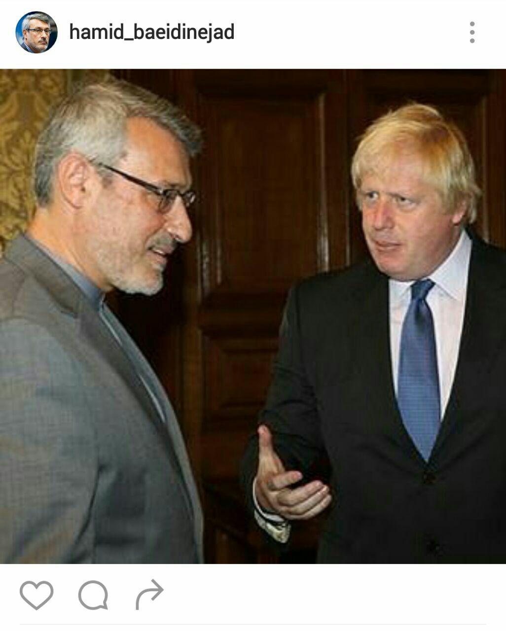 ارتقای سطح روابط ایران و بریتانیا به سطح سفیر بعد از 5 سال