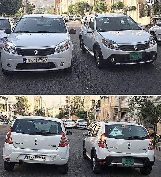 رونمایی از خودروی رنو جدید در ایران