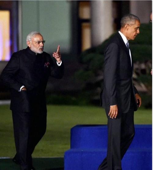 عکس نخستوزیر هند دستمایه طنز شد