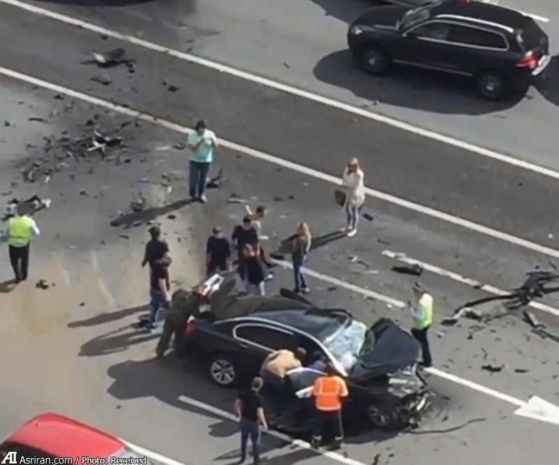 تصادف مرگبار خودرو پوتین بدون حضور پوتین (+عکس)