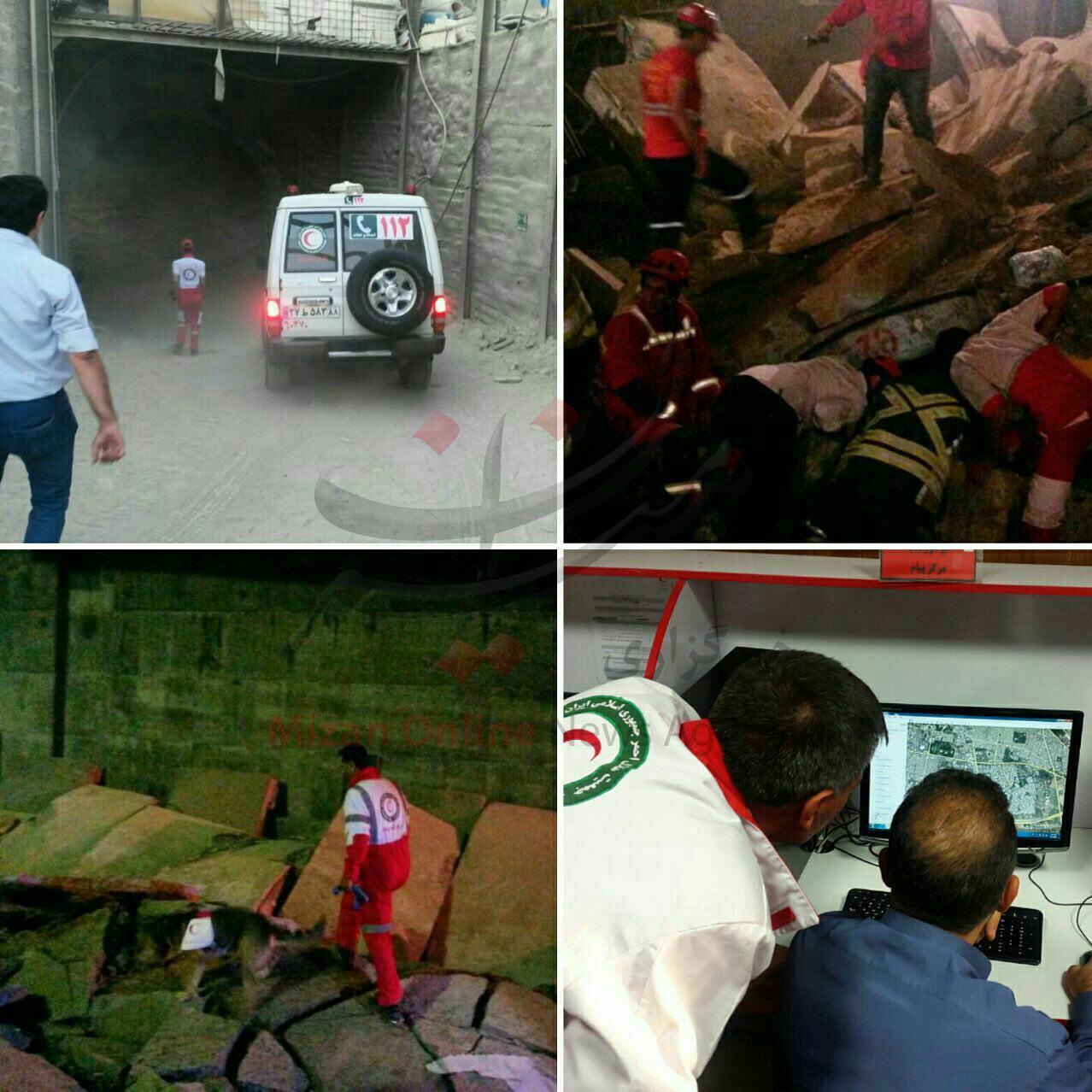 عضو شورای شهر: احتمال کشته شدن 4 کارگر در حادثه مترو (+عکس)